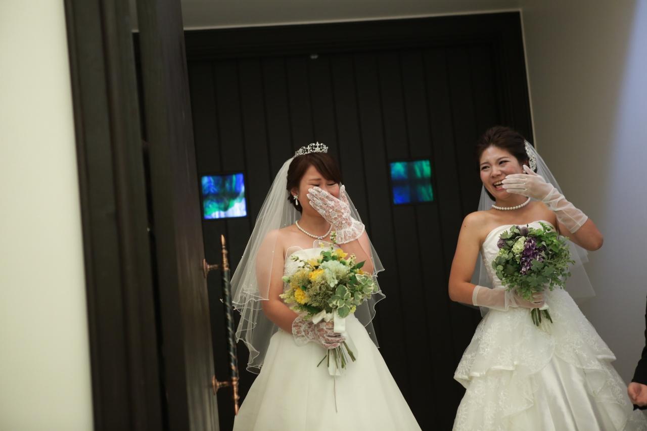 泣き出す花嫁